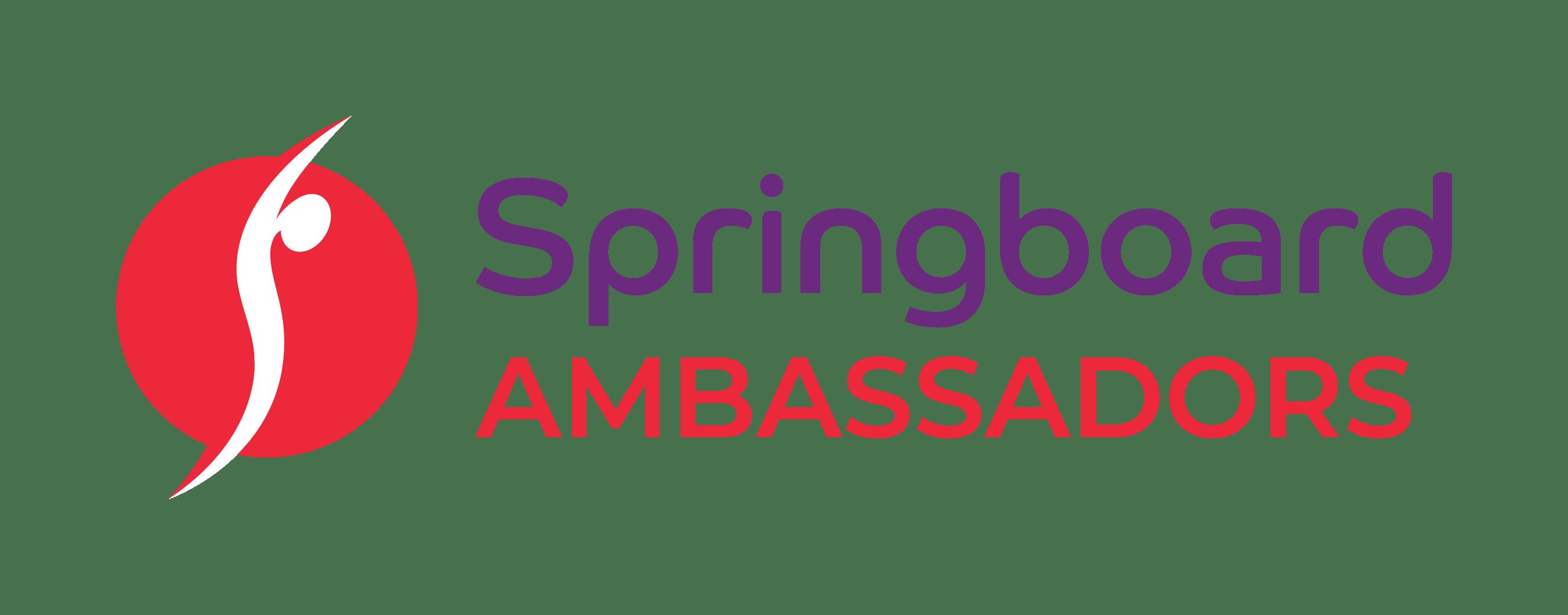 Springboard Ambassadors Logo PNG