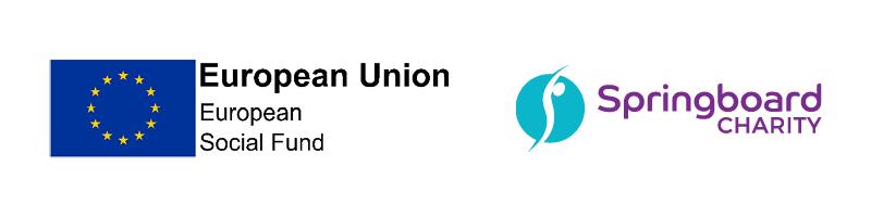 European Social Fund & The Springboard Charity Logos