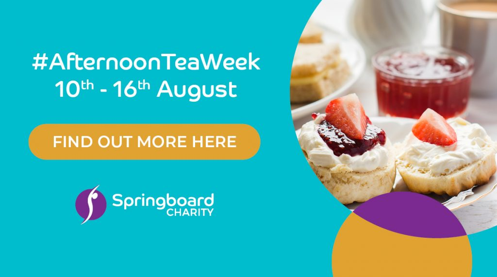 Afternoon Tea Week 10th - 16th August
