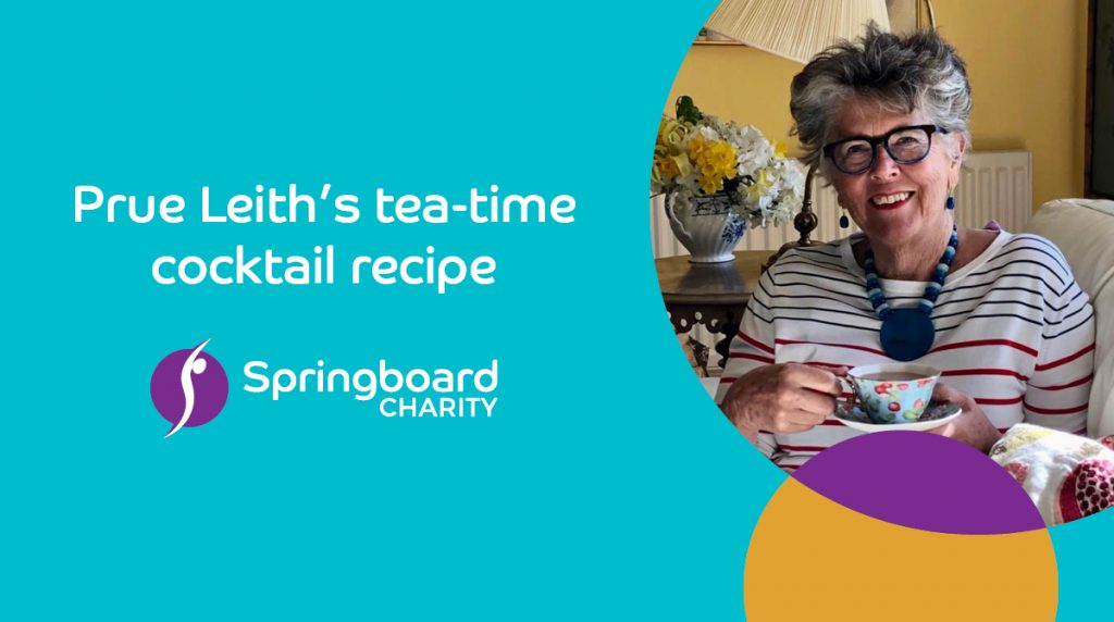 Pure Leith's tea-time cocktail recipe